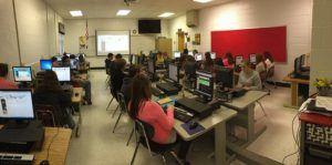 Classroom, Technology, Education