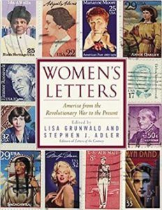 Book Cover Women's Letters: America From the Revolutionary War to the Present