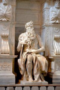 Michelangelo, The Statue of Moses
