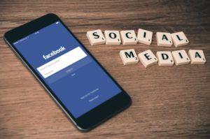 Social Media: Facebook Log in Page