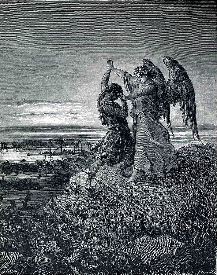 Jacob Wrestles with the Angel (Gen. 32:24-32)