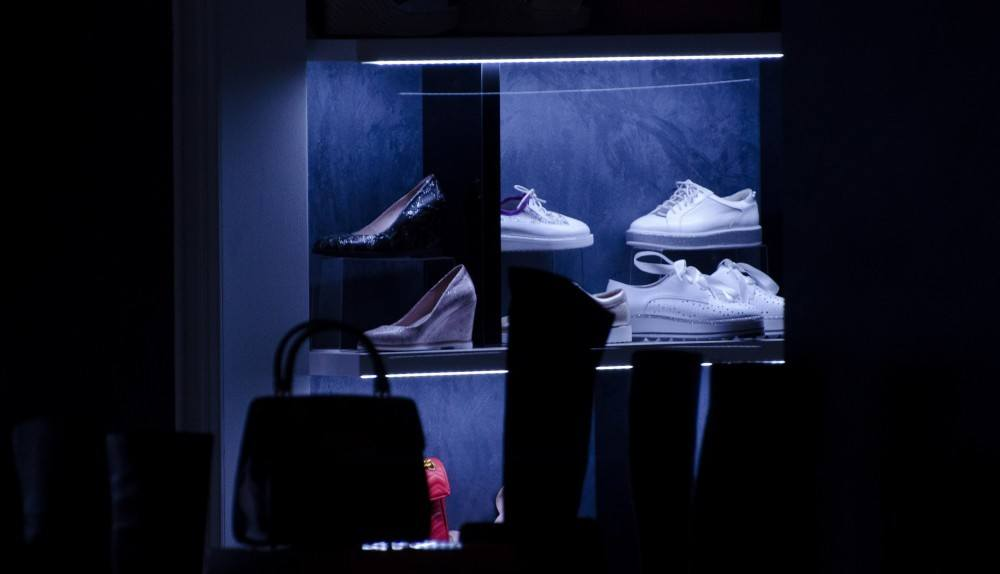 Shoes in a Shop Window