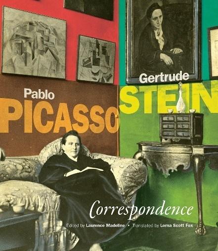 Pablo Picasso-Gertrude Stein: Correspondence; Book Cover