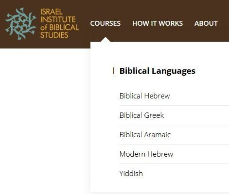 Where To Learn Yiddish Online: The Israel Institute of Biblical Studies