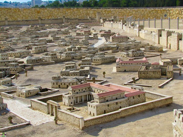 The Difference Between Aramaic and Hebrew: Scale Model of the Ancient Jerusalem