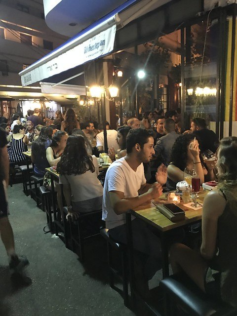 Night Life in Tel Aviv