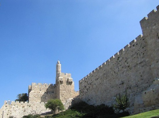 The King David's Tower