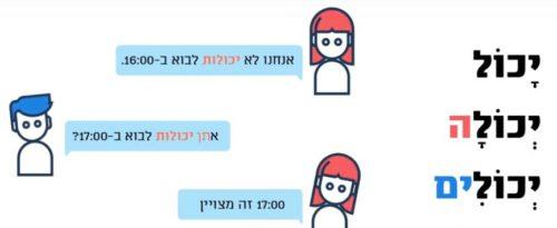 Hebrew Sentences