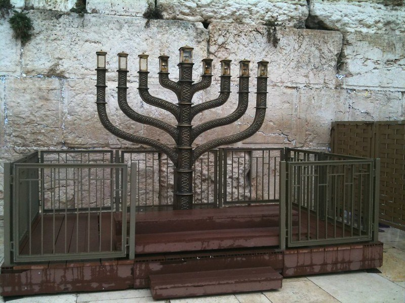 Hebrew Word Pronunciation: Audio Learning Opportunities. Hanukah's Menorah