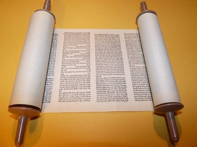 The Meaning of Torah in Hebrew: Torah Scroll