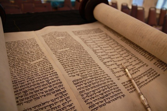 Orthodox Judaism Beliefs and Practices: Hebrew Scroll