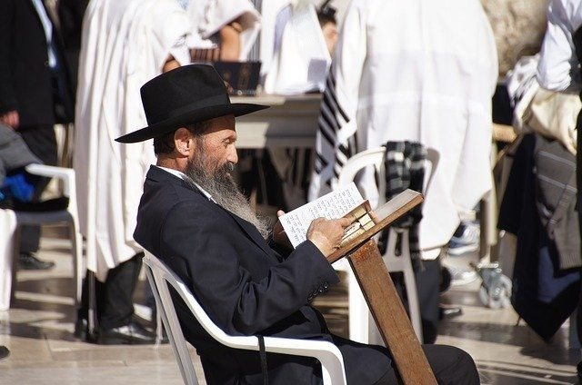 Orthodox Judaism Beliefs and Practices: Jewish Person Reading